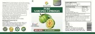 NutrineLife Pure Garcinia Cambogia Supplement (90 Capsules)