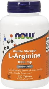 Now Foods L-Arginine 1000 mg Supplements (120 Capsules)