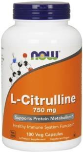Now Foods L-Citrulline 750 mg (180 Capsules)