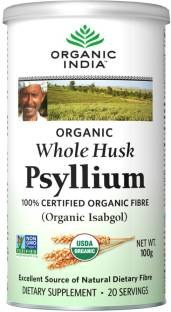 Organic India Whole Hush Psyllium (100gm)
