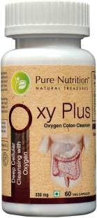 Pure Nutrition Oxy Plus 330mg Supplements (60 Capsules)