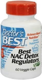 Doctor's Best NAC Detox Regulators Supplements (60 Veg Capsules)