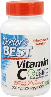 Doctor'S Best Vitamin C 1000 mg Supplements (120 Capsules)