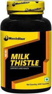 MuscleBlaze Milk Thistle Supplement (60 Capsules)