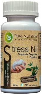 Pure Nutrition Stress Nil 500mg Supplements (90 Capsules)