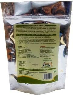 Zukewell Green Coffee Beans (400gm, Pack of 4)
