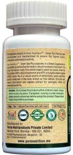 Pure Nutrition Green Tea Plus 500mg Supplements (90 Capsules)
