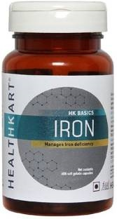 Healthkart Iron Supplement (60 Capsules)
