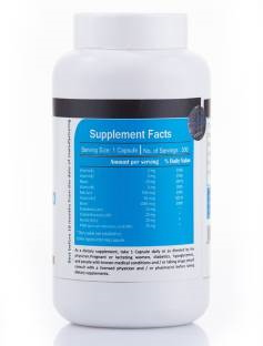 Vista Nutrition Vitamin B 100 Complex Supplements (300 Capsules)