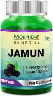 Morpheme Remedies Jamun Supplements (60 Capsules) - Pack Of 3