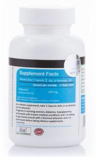 Vista Nutrition Ubiquinol 100mg Supplement (60 Capsules)