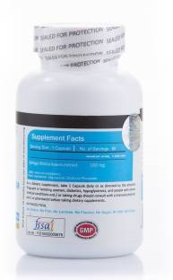 Vista Nutrition Ginkgo Biloba 180 mg Vitamins (90 Capsules)
