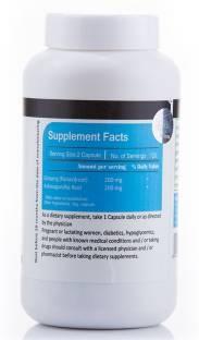 Vista Nutrition Ginseng Vitamins With Ashwagandha (240 Capsules)