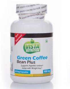 Vista Nutrition Green Coffee Bean Plus 400mg Supplement (60 Capsules)