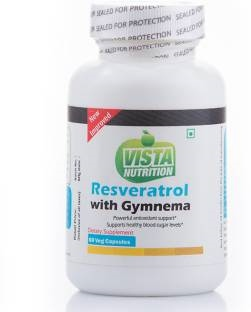 Vista Nutrition Resveratrol Plus With Gymnema Sylvestre (60 Capsules)