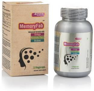 Zenith Nutrition Memory Fab Supplements (60 Capsules)