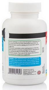 Vista Nutrition Garcinia Plus 500mg Supplement (60 Capsules)