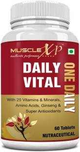 MuscleXP Daily Vital One Daily Supplement (60 Capsules)