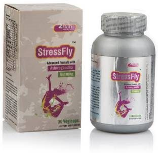 Zenith Nutrition Stress Fly Supplement (30 Capsules)