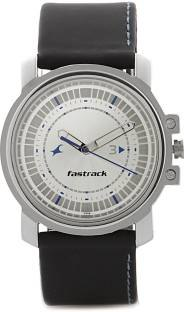 Fastrack NJ3039SL01C Silver Toned Analogue Men's Watch