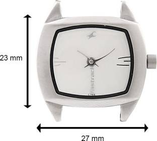 Fastrack NG6001SM01 Urban Kitsch Upgrades Analog White Dial Women's Watch (NG6001SM01)