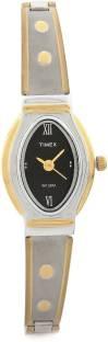 Timex JW16 Classics Analog Black Dial Women's Watch (JW16)