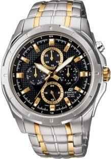 Casio Edifice EF-328SG-1AVDF (ED377) Chronograph Black Dial Men's Watch (EF-328SG-1AVDF (ED377))