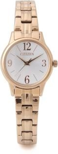 Citizen EX0293-51A Analog White Dial Women's Watch