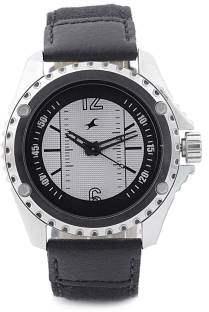 Fastrack NC3063SL01 Machine Analog White Dial Men's Watch