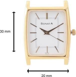 Sonata NF70088014YM01 Essentials Analog Watch (NF70088014YM01)