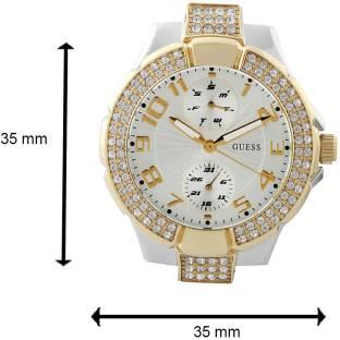 Guess W15072L3 Silver Dial Analog Women's Watch