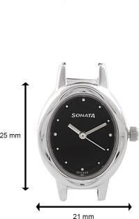 Sonata 8085SM01C Everyday Analog Black Dial Women's Watch (8085SM01C)