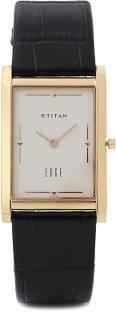 Titan Edge NH1043YL05 Cream Coloured Dial Men's Watch (NH1043YL05)