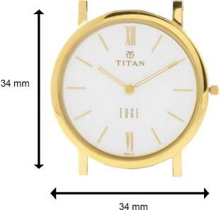 Titan Edge NH679YL01 Analog White Dial Men's Watch (NH679YL01)