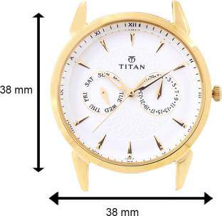 Titan NE1521YM04 Tycoon Analog Watch