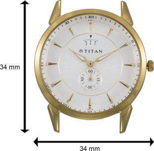 Titan Regalia NF1521YM01 Tycoon Analog White Dial Men's Watch (NF1521YM01)