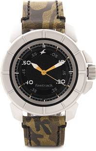 Fastrack NG3088SL02 Commando Men's Watch