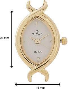 Titan Raga NH2251YM03 Analog Gold Dial Women's Watch (NH2251YM03)