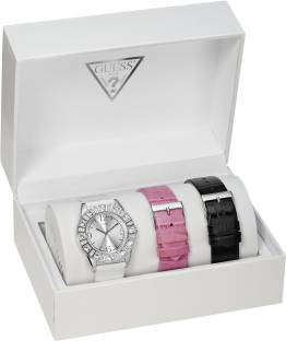Guess I95263L1 Silver Dial Analog Women's Watch