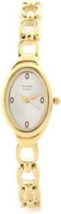 Titan Raga NH2435YM01 Silver Toned Dial Women's Watch (NH2435YM01)