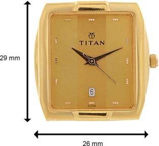 Titan Karishma NH9153YM01 Analog Gold Dial Men's Watch (NH9153YM01)
