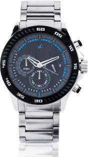 Fastrack ND3072SM03 Chrono Upgrade Analog Black Dial Men's Watch (ND3072SM03)