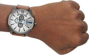Diesel DZ4280I Stopwatch Chronograph White Dial Mens Watch