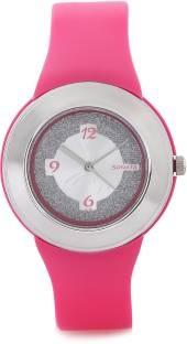 Sonata NH8991PP01CJ Fashion Fibre Analog Silver Dial Women's Watch (NH8991PP01CJ)
