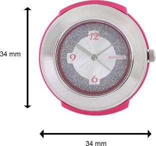 Sonata NH8991PP01CJ Fashion Fibre Analog Silver Dial Women's Watch