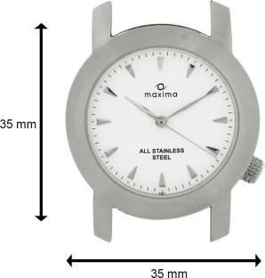Maxima 04811CMGS Attivo Analog White Dial Men's Watch (04811CMGS)