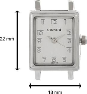 Sonata NF8080SM02C Wedding Analog White Dial Women's Watch (NF8080SM02C)