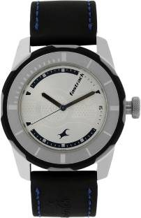 Fastrack NG3099SP02C Analog Silver Dial Men's Watch (NG3099SP02C)