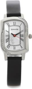 Sonata NG87001SL04 Analog Silver Dial Women's Watch (NG87001SL04)