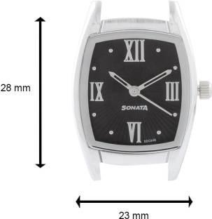 Sonata NG87003SL02 Analog Black Dial Women's Watch